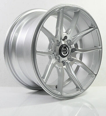 4pcs JUN SAMURAI 15 inch Mag Wheels Rim 4X100/4X114.3 Alloy wheel Car Rims -1