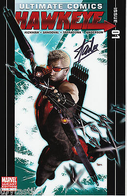 Marvel Comics Ultimate Hawkeye #1 2011 Authentic Stan Lee Autograph Signature