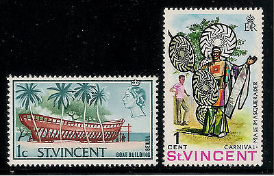 British Colony ST. VINCENT Old Beautiful Mint Stamps