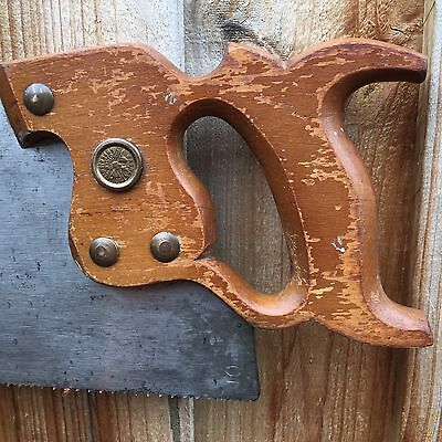 Vintage SLACK SELLARS 10PPI Xcut Crosscut 22inch SAW Old Antique Hand Tool #139