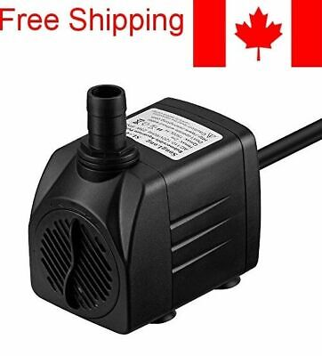 400 GPH Submersible Pump Fountain Water Pump Aquarium
