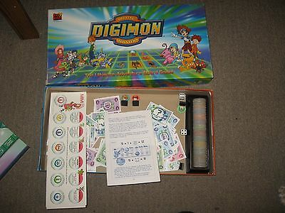 Used Digimon Digital Monsters Board Game Appears Complete