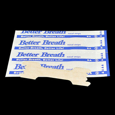 100 TAN BETTER BREATH NASAL STRIPS LARGE RIGHT WAY TO STOP SNORE good