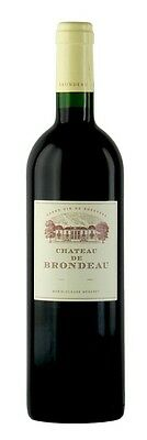 Chateau Brondeau Bordeaux Superieur 2008 (6 x 750mL), France.