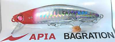 Artificiale Bagration 80 Apia Col 02 Minnow Japan Spinning Señuelo Pesca Mare