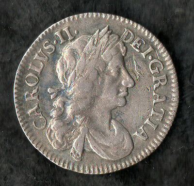 Charles II Maundy Fourpence Silver 1683
