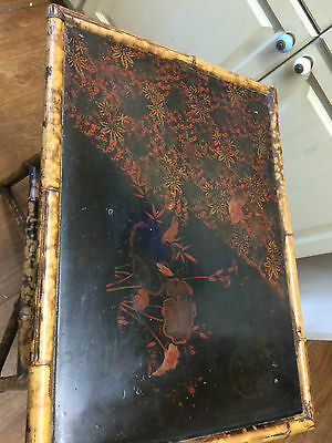 Beautiful 19Th Century Lacquered Occasional Table Chinese/japanese