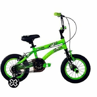 Kids Bicycle Games Boys Training Wheels Bmx Hand Brakes Sports