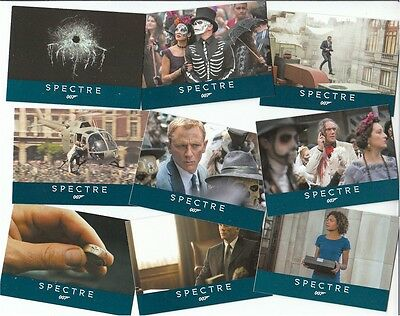 "James Bond Archives 2016: 76 Card ""Spectre"" Basic/Base Set Free P1 Promo Card"