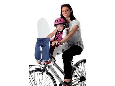 Windscreen Belelli for bicycle - Ideal for seat Baby / Child