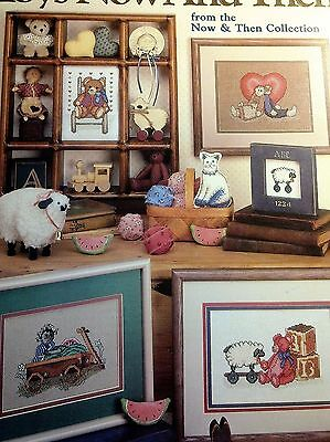 Toys Now And Then Cross Stitch Pattern Only