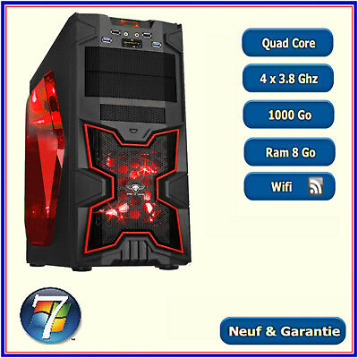 PC Gamer - A8 7600  - 4 x 3.1 Ghz - 1000Go - Ram 8 Go - Wifi - Windows 7