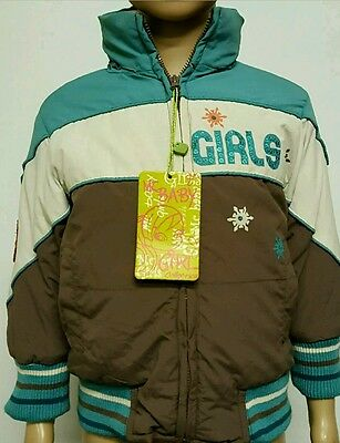 Girls Snow Jacket Age 7 Years New With Tags Mcbaby Girl Collection With Hood