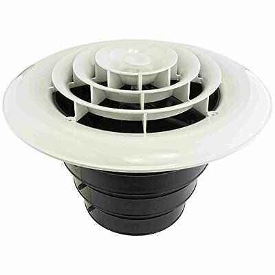 """Round Ceiling Register for 4""""/5""""/6"""" Round Air Ducts - AIRTEC MV360S  SHIPS FREE!"""