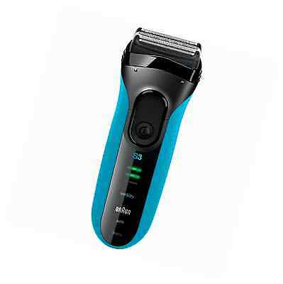 Braun Series 3 Men's Electric Foil Shaver, Wet and Dry Rechargeable and Cordless