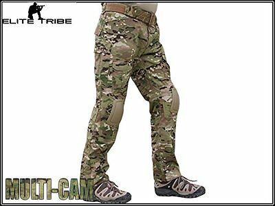 Military Airsoft Hunting BDU Pants Combat Gen2 Tactical Pants with Knee Pads CP