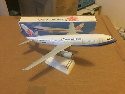 China Airlines Airbus A300-600 Aircraft Model 1:200 Scale Long Prosper RARE