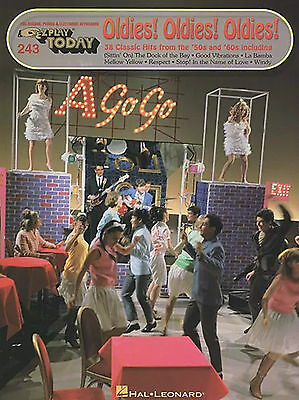 E-Z Play Today 243 - OLDIES! - 1950s 1960s Sixties Easy Keyboard Music Book EZ