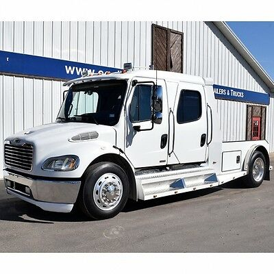 2006 Other Makes M2 Freightliner   2006 Freightliner M2 Crew Cab Truck S&S Conversion, 50K Miles, Cat Engine