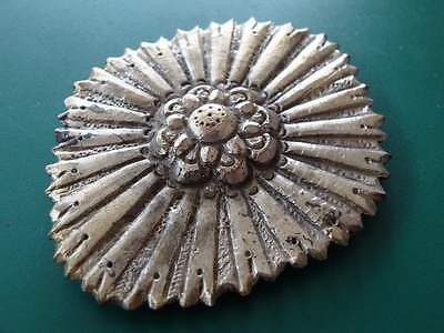 Rare Gorgeous medieval Ottoman silver alloy belt buckle early 19th century