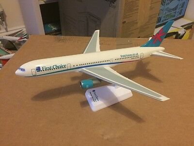 First Choice Airways Boeing 767-300 Aircraft Model 1:200 Scale Wooster VERY RARE