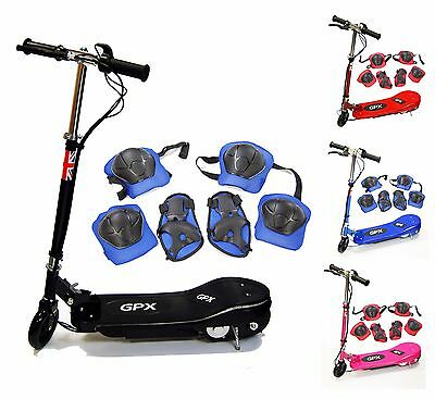 Led Kids Electric E Scooter Ride On Toy Rechargeable Escooter Children Motorised