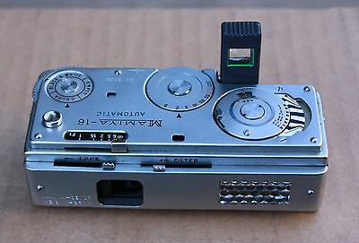 Mamiya 16 Automatic Spy Camera for a Collector