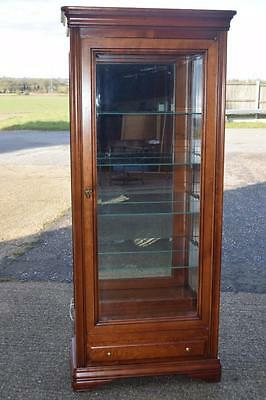 French Cherrywood  Louis Phillippe Design  Display Cabinet