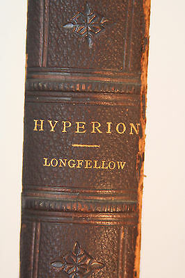 """HYPERION"" by Henry Wadsworth Longfellow - 1868 Edition"
