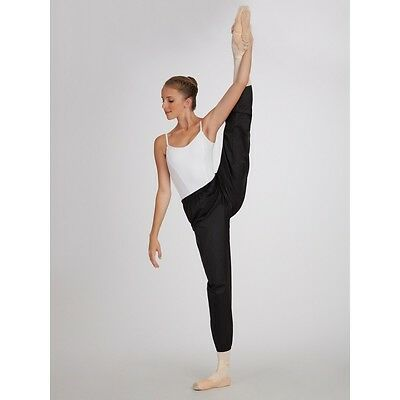 Capezio Warm up Pants RipStop Pants Trash Bag Pants Warm Up Pants Dance NWT