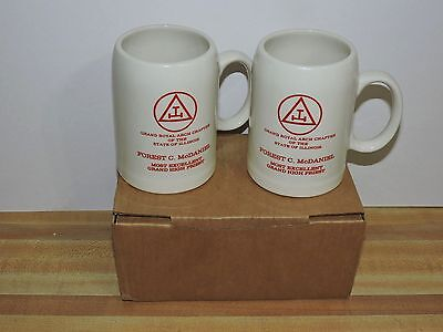 1986-87 Grand High Priest Cup set Grand Royal Arch Chapter of Illinois