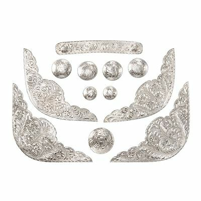 Royal King 12 piece deluxe etched replacement silver set