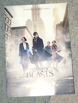 Fantastic Beasts & Where To Find Them Promotional Flyer J.K. Rowling
