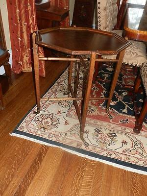 "Rare Antique ""Tuck Away"" Occational Table"