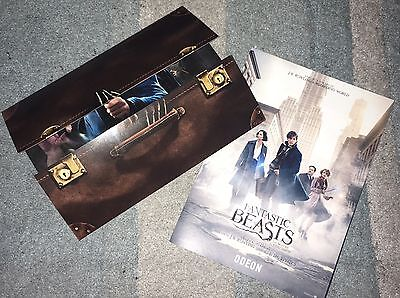Fantastic Beasts Promo Pack Inc. Flyer & Exclusive Ticket Holder J.K. Rowling