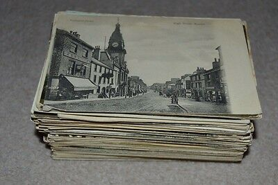 Bundle Job Lot Approx 170 Early Vintage UK Topo Postcards Pre 1930s