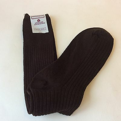 Men's Vintage Black Socks  Size 7-10 Unworn Dead stock