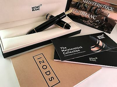 Montblanc Meisterstück 90th Anniversary 149 Fountain Pen - Never Inked