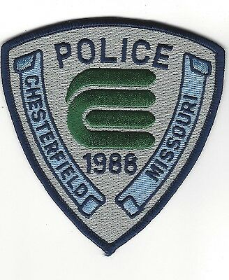 Chesterfield MO Missouri Police Dept. LEO patch - NEW!