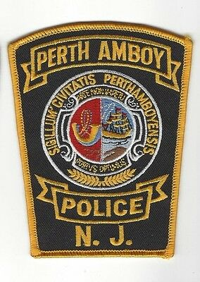 Perth Amboy (Middlesex County) NJ New Jersey Police Dept. patch - NEW!