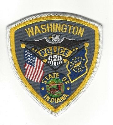 Washington in Daviess County IN Indiana Police Dept. patch - NEW!