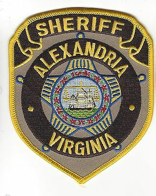 Alexandria VA Virginia Sheriff's Office Dept. LEO patch - NEW!