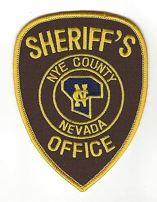 Nye County NV Nevada Sheriff's Office LEO patch - NEW!