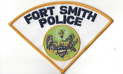 Fort Ft Smith AR Arkansas Police Dept. LEO patch - NEW!