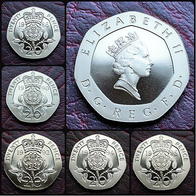 UK BRITISH PROOF 20p TWENTY PENCE COIN. CHOOSE YOUR YEAR! FREE UK POST!