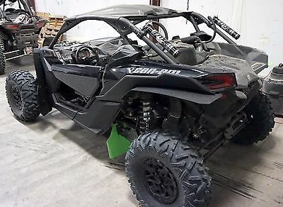CanAm MAVERICK X3 XRS Mud Flaps, Fender Extensions, by ROKBLOKZ All New! BLACK