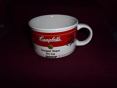 Campbell's Soup Souper Stars On Ice Mug Cup 1998 U.S. Ice Skating Champs KWAN