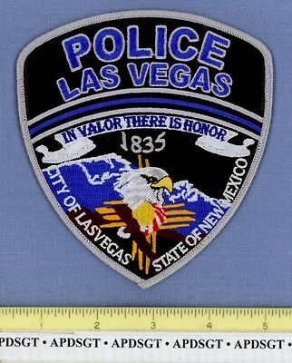 LAS VEGAS NEW MEXICO NM Sheriff Police Patch INDIAN ZIA