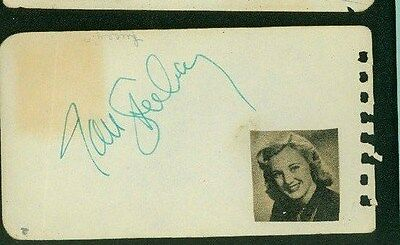 Keenan Wynn Signed 2x4 Piece Of Paper Autographs-original
