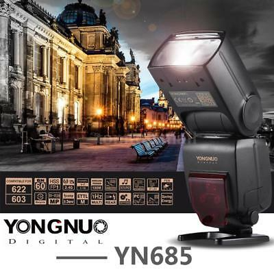 YONGNUO YN685 Wireless TTL HSS GN60 Flash Speedlite Light for Nikon DSLR Camera